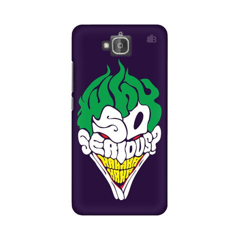 Why So Serious Huwaei Honor Holly 2 Plus Phone Cover