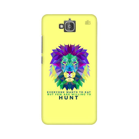 Willing to Hunt Huwaei Honor Holly 2 Plus Phone Cover