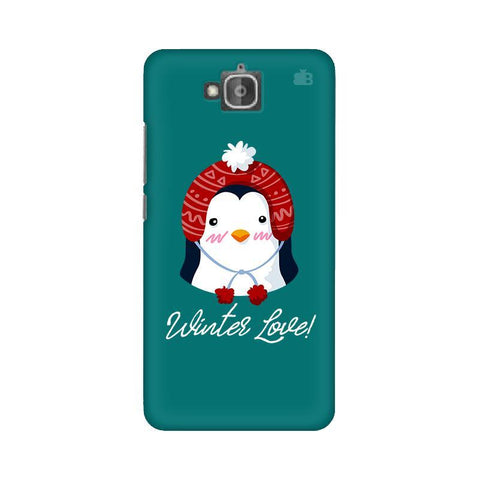 Winter Love Huwaei Honor Holly 2 Plus Phone Cover