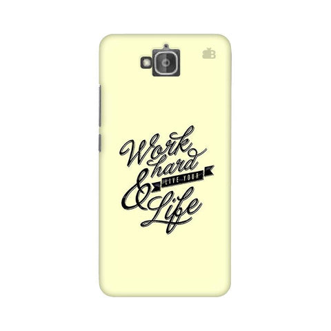 Work Hard Huwaei Honor Holly 2 Plus Phone Cover