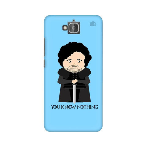 You Know Nothing Huwaei Honor Holly 2 Plus Phone Cover