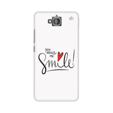 You make me Smile Huwaei Honor Holly 2 Plus Phone Cover