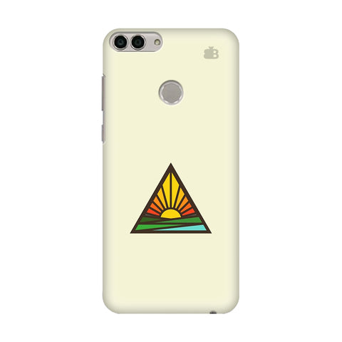 Triangular Sun Huawei Enjoy 7S Cover