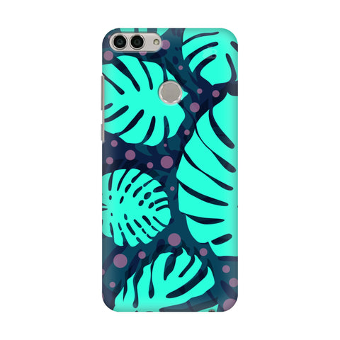 Tropical Leaves Pattern Huawei Enjoy 7S Cover