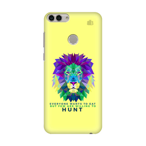 Willing to Hunt Huawei Enjoy 7S Cover