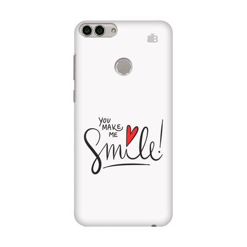 You make me Smile Huawei Enjoy 7S Cover