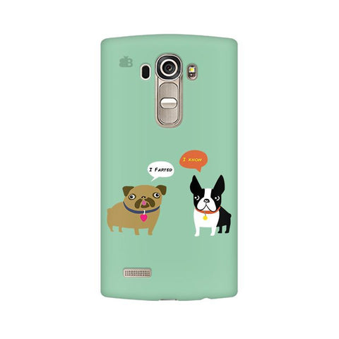 Cute Dog Buddies LG G4 Phone Cover