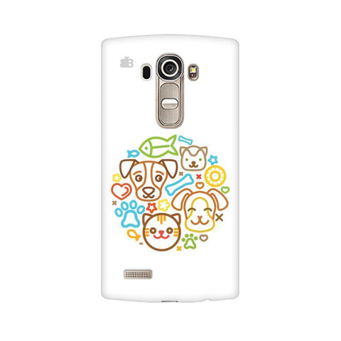 Cute Pets LG G4 Phone Cover