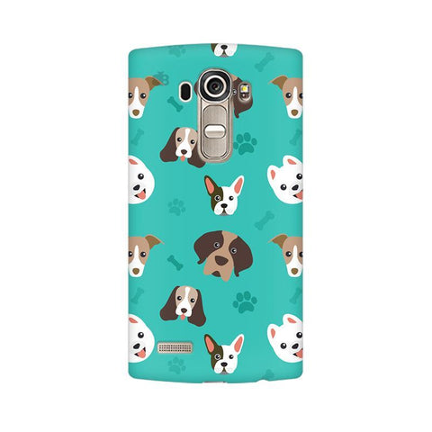 Doggie Pattern LG G4 Phone Cover