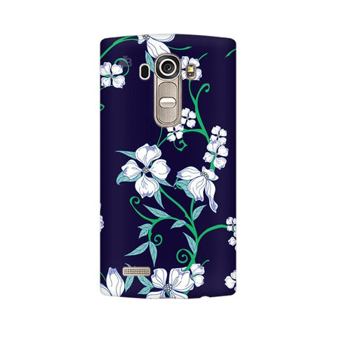 Dogwood Floral Pattern LG G4 Phone Cover