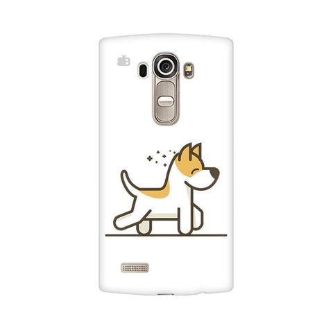 Happy Puppy LG G4 Phone Cover