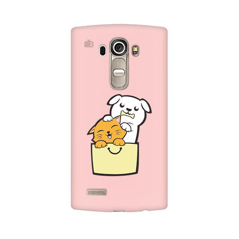 Kitty Puppy Buddies LG G4 Phone Cover