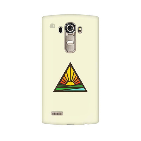 Triangular Sun LG G4 Phone Cover