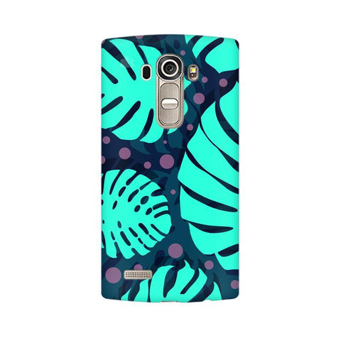 Tropical Leaves Pattern LG G4 Phone Cover