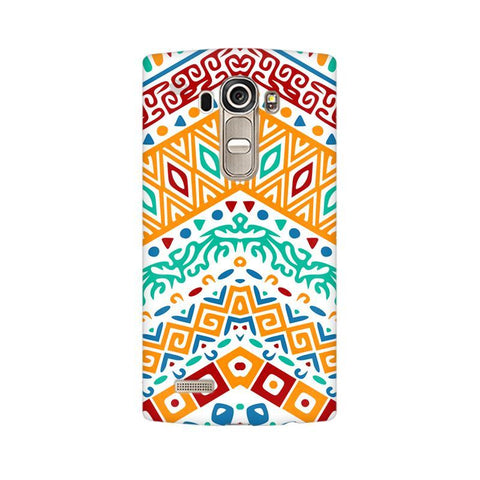 Wavy Ethnic Art LG G4 Phone Cover