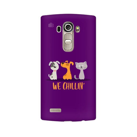 We Chillin LG G4 Phone Cover