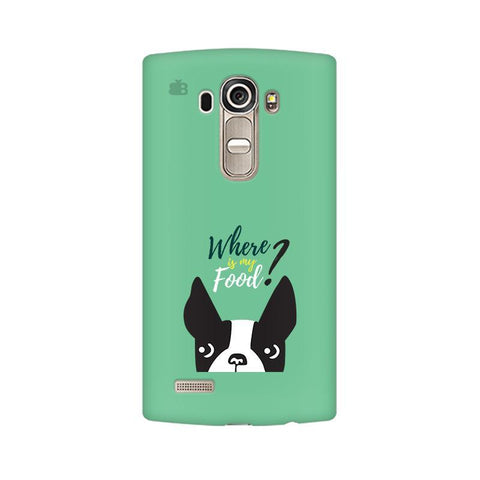 Where is my Food LG G4 Phone Cover