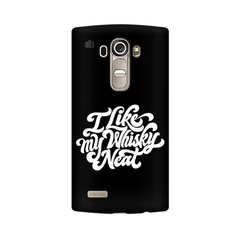 Whiskey Neat LG G4 Phone Cover