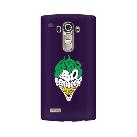 Why So Serious LG G4 Phone Cover