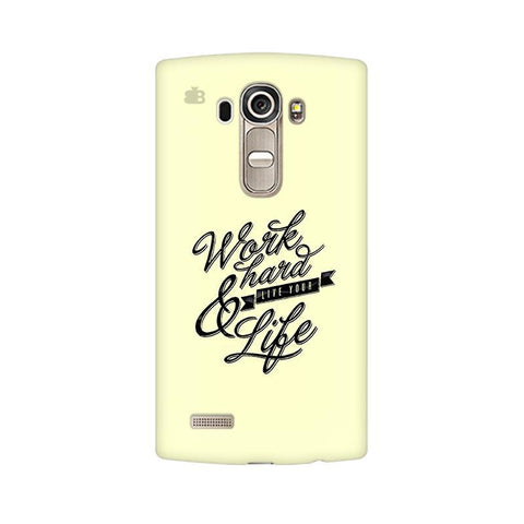 Work Hard LG G4 Phone Cover