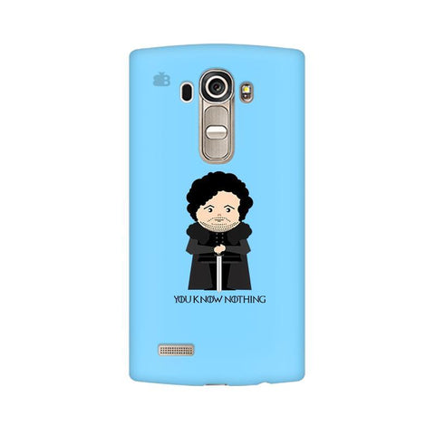 You Know Nothing LG G4 Phone Cover