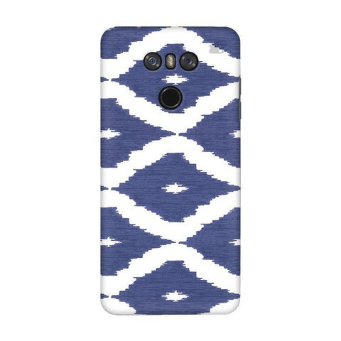 Blue Ikat LG G6 Phone Cover