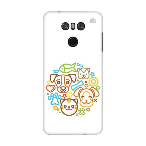 Cute Pets LG G6 Phone Cover