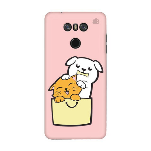 Kitty Puppy Buddies LG G6 Phone Cover