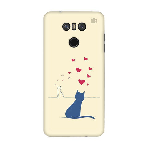 Kitty in Love LG G6 Phone Cover