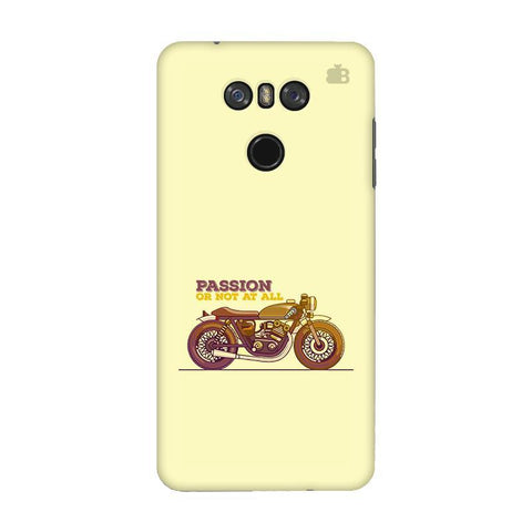 Passion for Motor LG G6 Phone Cover