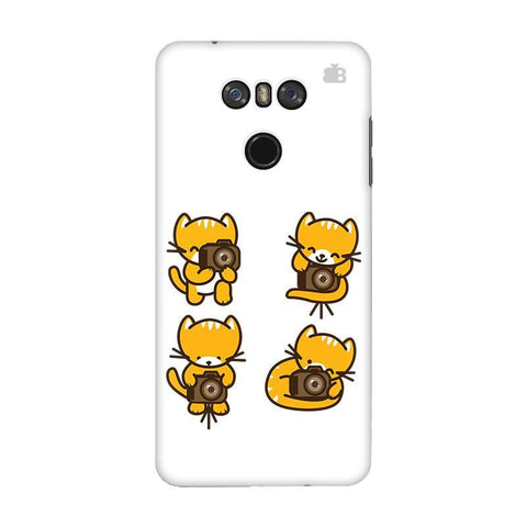 Photographer Kitty LG G6 Phone Cover