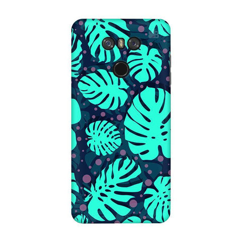 Tropical Leaves Pattern LG G6 Phone Cover