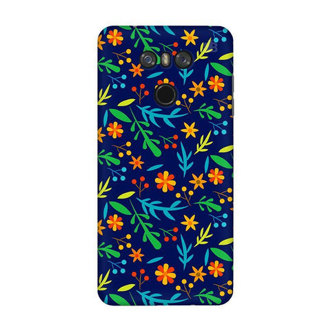 Vibrant Floral Pattern LG G6 Phone Cover
