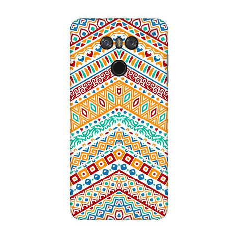 Wavy Ethnic Art LG G6 Phone Cover
