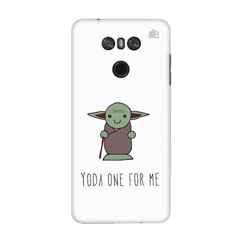 Yoda One LG G6 Phone Cover
