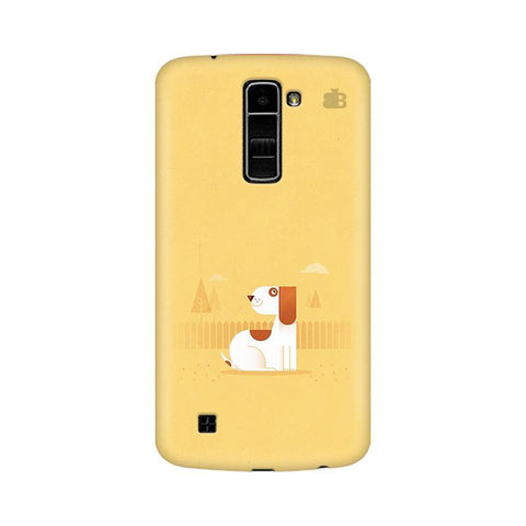 Calm Dog LG K10 Phone Cover
