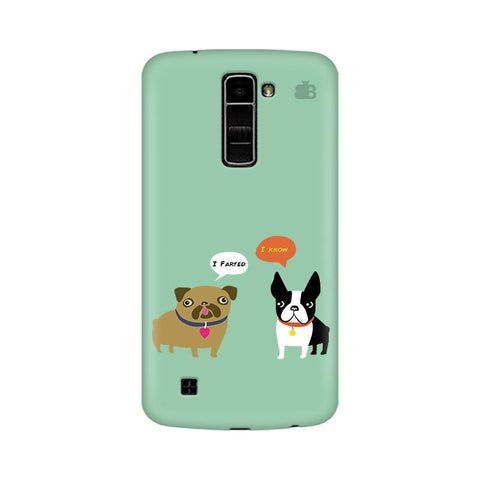 Cute Dog Buddies LG K10 Phone Cover
