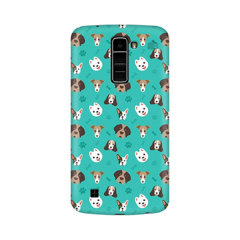 Doggie Pattern LG K10 Phone Cover