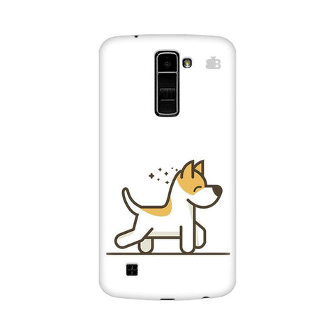 Happy Puppy LG K10 Phone Cover