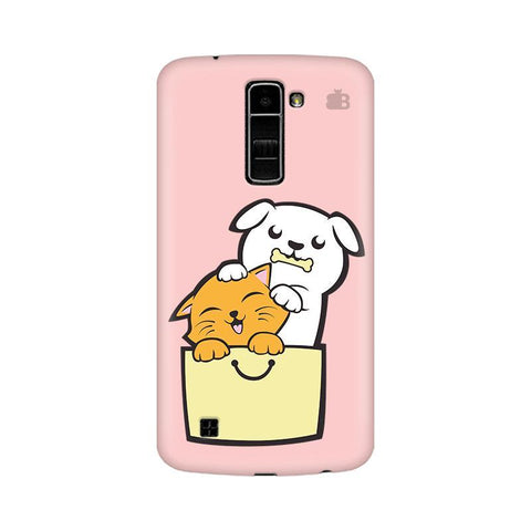 Kitty Puppy Buddies LG K10 Phone Cover