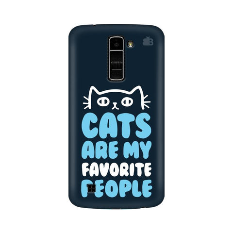Cats favorite People LG K7 Phone Cover