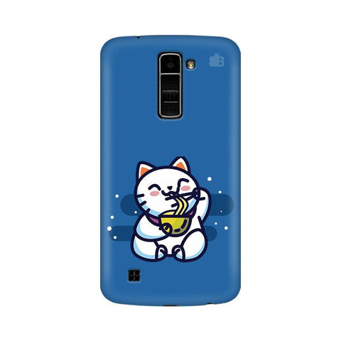 KItty eating Noodles LG K7 Phone Cover