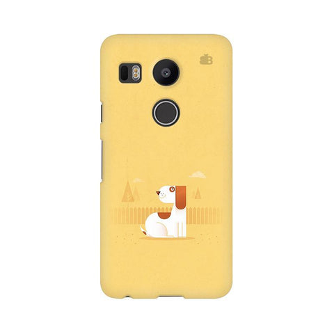 Calm Dog LG Nexus 5X Phone Cover