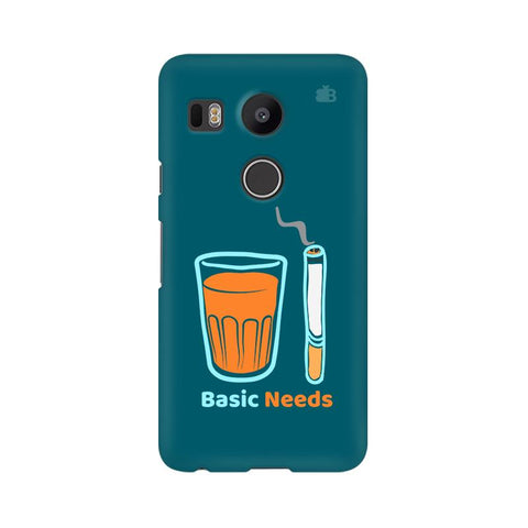 Chai Sutta Basic LG Nexus 5X Cover