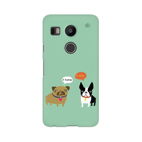 Cute Dog Buddies LG Nexus 5X Phone Cover