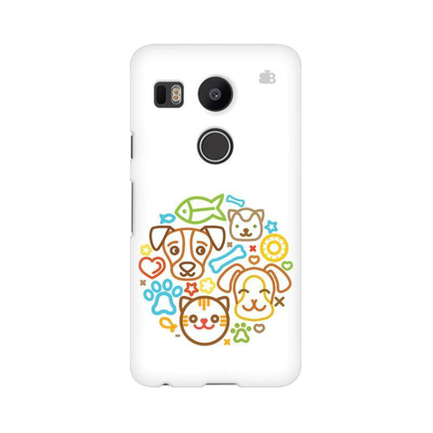 Cute Pets LG Nexus 5X Phone Cover