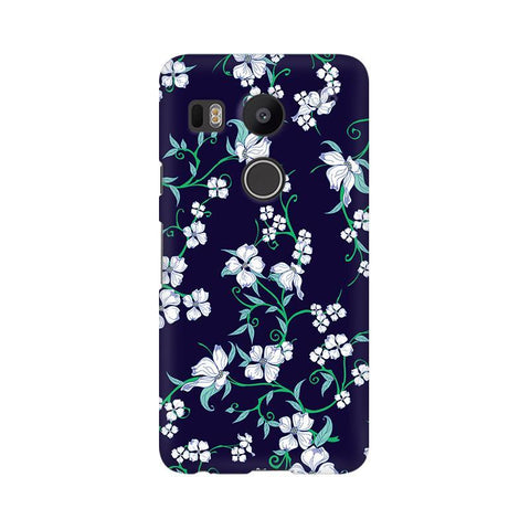 Dogwood Floral Pattern LG Nexus 5X Phone Cover