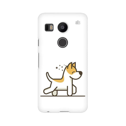 Happy Puppy LG Nexus 5X Phone Cover