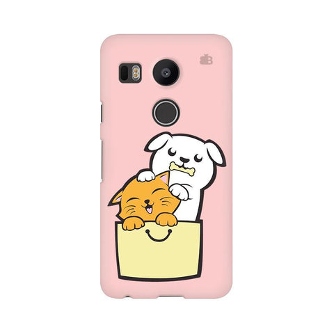 Kitty Puppy Buddies LG Nexus 5X Phone Cover