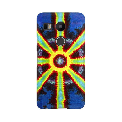 Tie & Die Pattern LG Nexus 5X Phone Cover